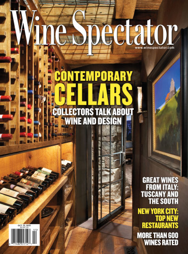 Wine Spectator Cover Cabinetry